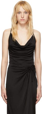 Black Cowl Neck Camisole