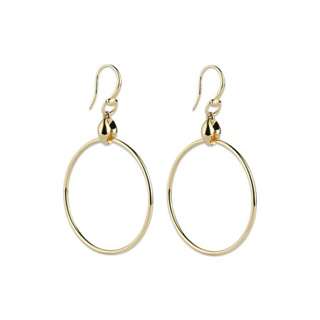 Gucci Marina Chain 18k Hoop Earrings