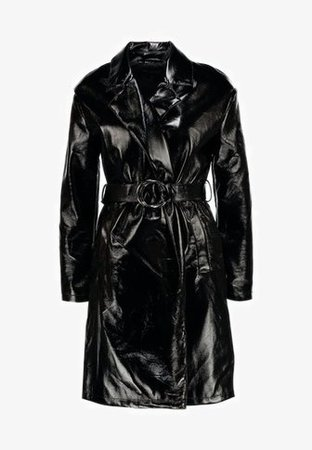 Miss Selfridge MAC - Trenchcoats - black - Zalando.dk
