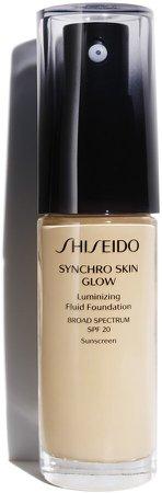 Synchro Skin Glow Luminizing Fluid Foundation Broad Spectrum