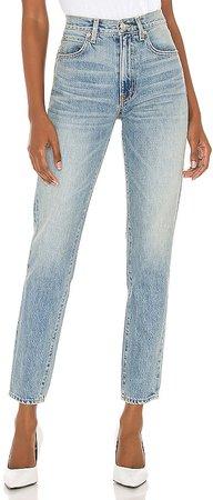 Roxy Mid Rise Slim Jean