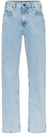 Est. 1978 logo tag straight leg jeans