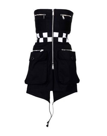 DSQUARED2 Women's Short dress Black 2 US