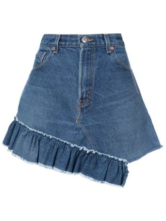 Icons Reconstructed Levi's 501 Skirt - Farfetch