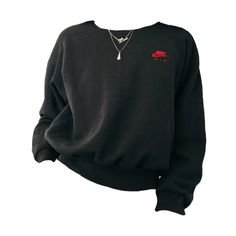 black and red eboy sweater