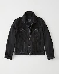 black jean jacket - Google Search