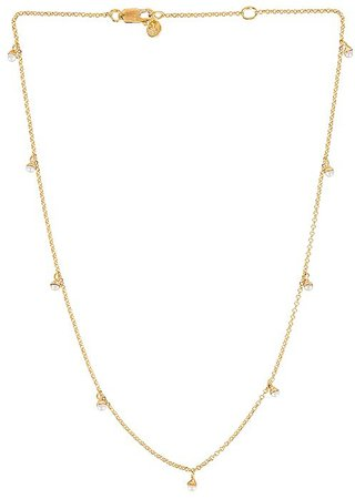 FAIRLEY Pearl Pom Necklace
