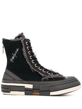 Yohji Yamamoto high-top Platform Sole Sneakers - Farfetch