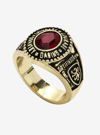 Harry Potter Gryffindor Ring Necklace