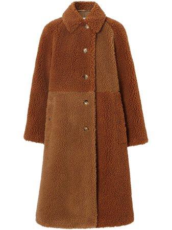 Burberry пальто Teddy Bear -40%- купить в интернет магазине в Москве   Цены, Фото.