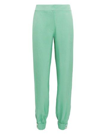 Mint Suiting Jogger Pants