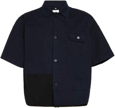 Cascade Cotton Short-Sleeve Shirt