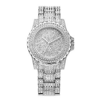 Luxury Full Crystal Diamond Stone Quartz Watch Women Stainless Steel Fashion Bracelet Watch - Buy Watch Women,Stone Quartz Watch,Diamond Watch Product on Alibaba.com