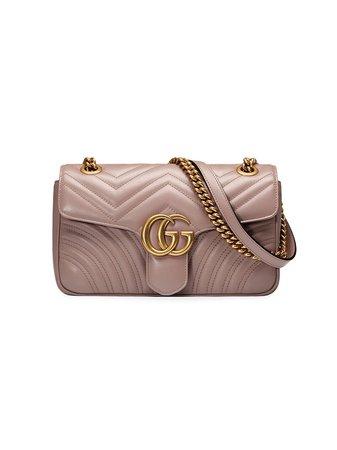 Gucci GG Marmont Väska i Matelassé - Farfetch