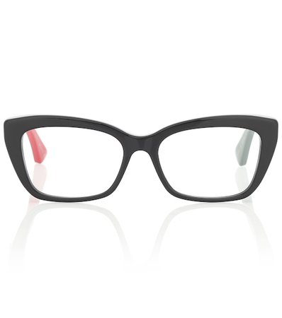 Gafas De Acetato Rectangulares | Gucci - Mytheresa