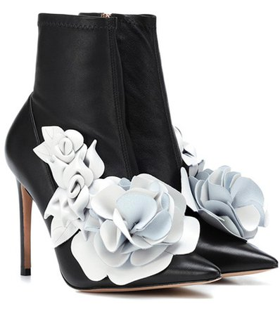 Exclusive to Mytheresa – Jumbo Lilico leather ankle boots