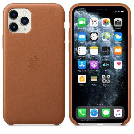 Funda de piel para el iPhone 11 Pro - Azul noche - Apple (MX)