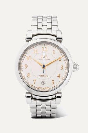 IWC SCHAFFHAUSEN | Da Vinci Automatic 36mm stainless steel watch | NET-A-PORTER.COM