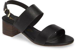 Gardenia Vegan Leather Sandal