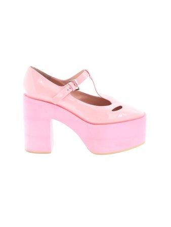 Moschino 100% Leather light Pink Heels Size 36 (EU) - 67% off | thredUP