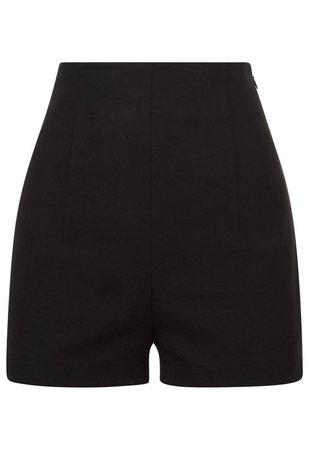 LA PERLA Essentials Cotton High Waist Shorts - Black.
