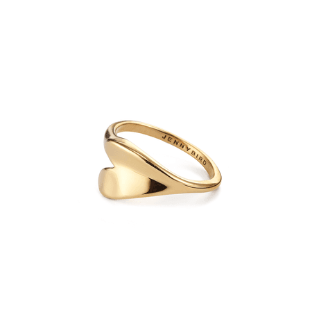 Layla Ring in Gold | JENNY BIRD