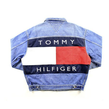 TOMMY HILFIGER HIGH WAISTED JEANS on The Hunt
