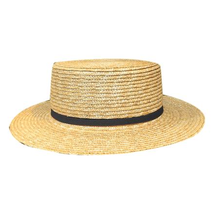 JESSICABUURMAN – NIUVA Strap Embellished Straw Sunhat