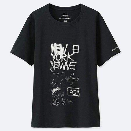 Women's Sprz Ny Short-sleeve Graphic T-Shirt (jean-michel Basquiat)