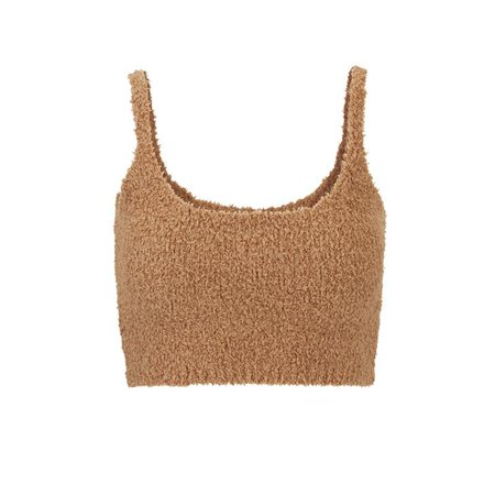 Cozy Knit Bralette - Camel | SKIMS