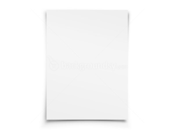 Blank white paper | Backgroundsy.com