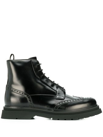 Prada brushed combat boots £752 - Buy Online - Mobile Friendly, Fast Delivery