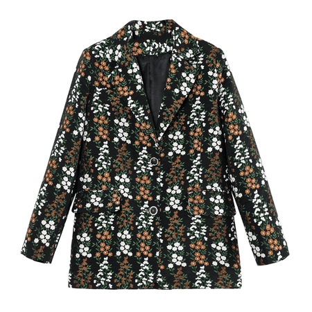 JESSICABUURMAN – OLVIA Embroidery Long Sleeves Blazer