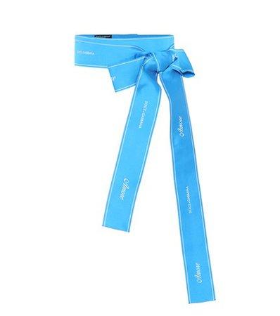 Satin waist belt
