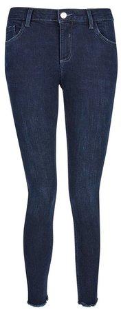 DP Petite Blue 'Darcy' Skinny Ankle Grazer Denim Jeans