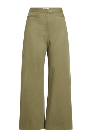 High-Waisted Wide-Leg Pants Gr. US 8