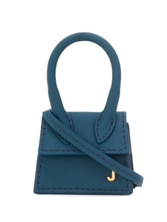 Blue Jacquemus Le Chiquiti Mini Bag | Farfetch.com