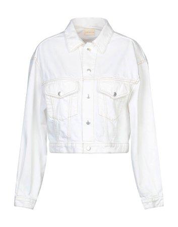 Simon Miller Denim Jacket - Women Simon Miller Denim Jackets online on YOOX United States - 42775957VN