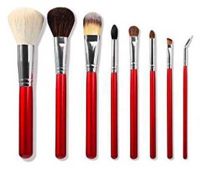 morphe apple red makeup brushes