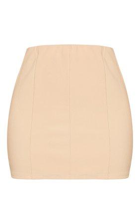 Stone Mini Bandage Skirt   PrettyLittleThing USA