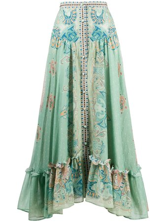 Etro Buttoned A-line Skirt - Farfetch