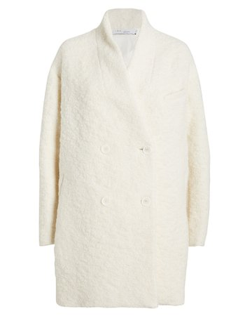 Acicoli Oversized Curly Wool Coat