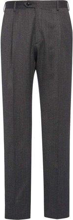Brioni Virgin Wool Trousers