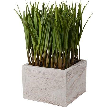 Laurel Foundry Modern Farmhouse Faux Grass in Ceramic Pot & Reviews | Wayfair