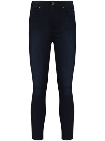 PAIGE Margot high-rise Cropped Jeans - Farfetch