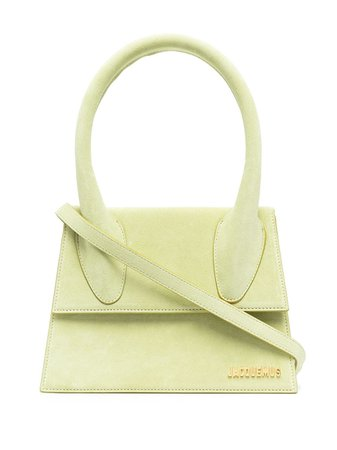 Shop green Jacquemus Le Grand Chiquito tote bag with Express Delivery - Farfetch