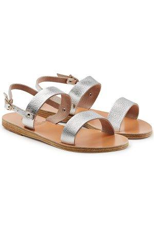 Clio Metallic Leather Sandals Gr. IT 38