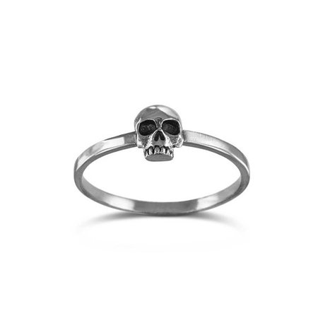 LostApostle Skull Stacking Ring