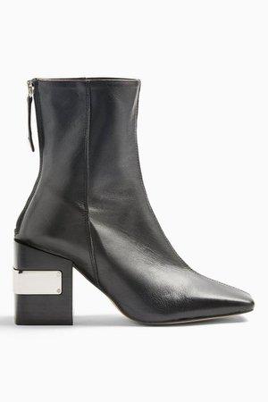 HARRIS Black Block Boots | Topshop