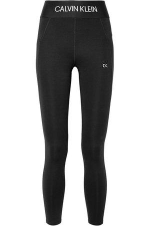 Calvin Klein   Cropped stretch leggings   NET-A-PORTER.COM